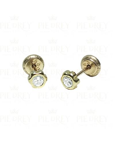 Earrings Daisy in Gold
